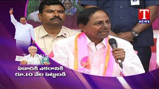 CM KCR About Rythu Bandhu Scheme | TRS Party Manifesto  live Telugu