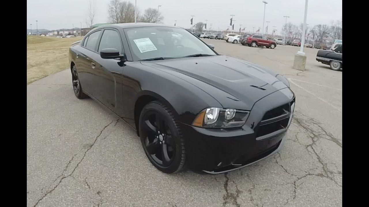 2012 Dodge Charger SXT Rallye Blacktop Edition | Black ...