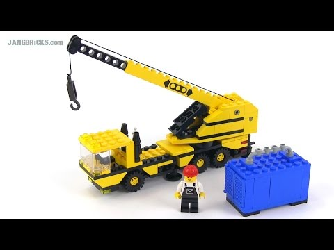 LEGO Classic Town 6361 Mobile Crane from 1986!