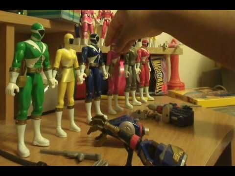 Episode 117: Power Rangers Lightspeed Rescue: Redone Figure Review