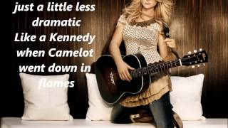 Miranda Lambert Mama's Broken Heart with Lyrics
