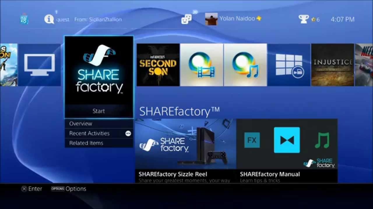 share factory usb