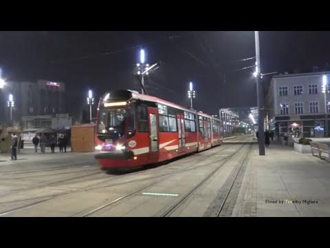 Tramwaje W Katowicach, Poland - Trams In Katowice, Poland