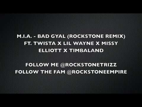 MIA - Bad Girls (@RockstoneTrizz Remix) ft. Twista, Lil Wayne, Missy