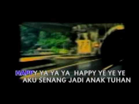 2374. LAGU ANAK SEKOLAH MINGGU - Happy Ya Ya Ya