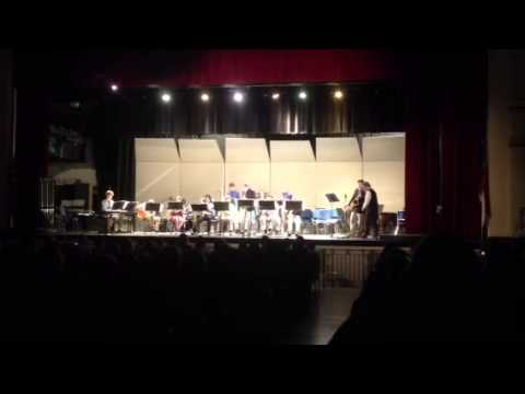 """Moanin'"" - Grimsley High School Jazz Band 12-11-2012"