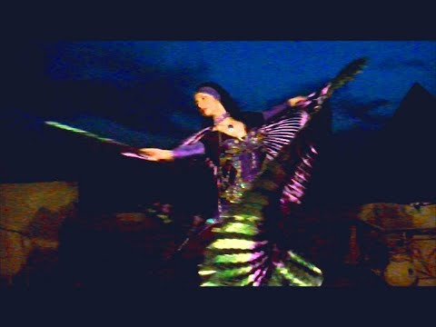 Dancing At Giza Pyramids - Belly Dance Egypt video
