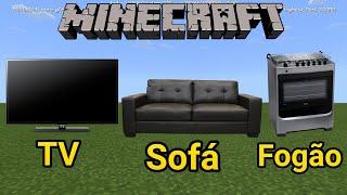 Como fazer MÓVEIS pra sua casa no Minecraft!!