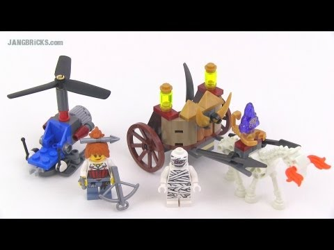 LEGO Monster Fighters 9462 The Mummy set review!