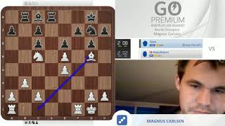 Magnus Carlsen plays The Bird (1.f4) vs. chess24 user Tanni