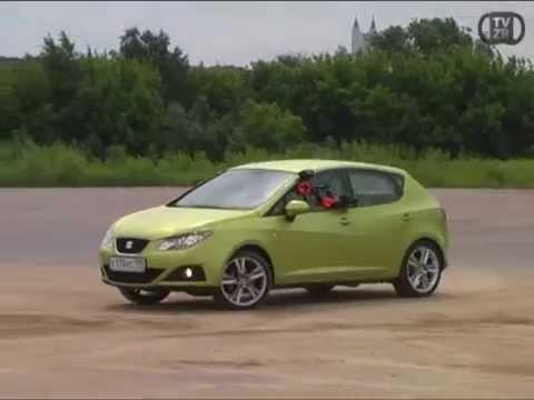 Дуэль SEAT Ibiza и Opel Astra OPC