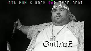 Big Pun x Boom Bap Type Beat - Outlawz *2018*