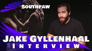 Jake Gyllenhaal - Southpaw Interview 2015