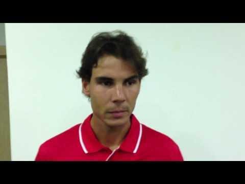 Rafael Nadal at 2013 Davis Cup by BNP Paribas World Group play-offs