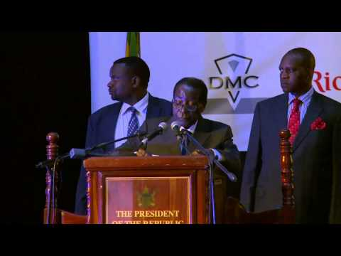 His Excellency Cde. Robert Gabriel Mugabe, President Of The Republic Of Zimbabwe video