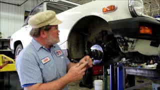 203 MG Midget front suspension