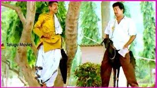 Talking Goat Comedy Scene Between RajendraPrasad & Chidambaram- In Aa Okkati Adakku Telugu Movie