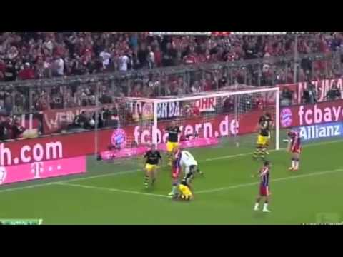 BAYERN MUNICH 2-1 DORTMUND FULL HIGHLIGHTS 2/11/2014