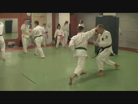 Power, speed & versatility training. 空手 -demo in Oulun Shukokai karate, Finland. Image 1