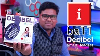 🔥 iBall Decibel BT01 Smart Headset with Alexa Enabled Review in hindi
