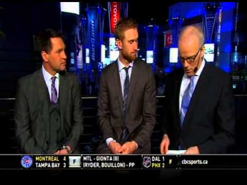 Jeff Carter Stops By HNIC On Kelly Hrudey Legends Night