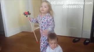 Cây đẩy đồ chơi | Đồ chơi vận động bằng gỗ