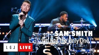 """Sam Smith - 仏CANAL+が""""I'm Not the Only One""""のライブ映像を公開 thm Music info Clip"""