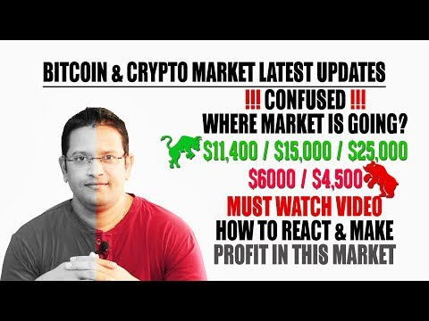 Bitcoin & Crypto Latest Market Updates & Profit in Bear Market. Where BTC is going $4500 or $25,000?