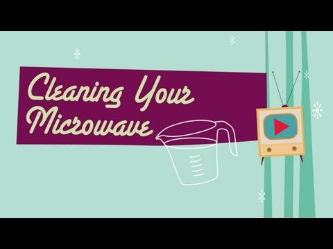 Cleaning Your Microwave