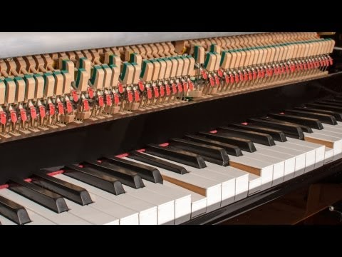 Nintendo audio played by player piano and robotic percussion
