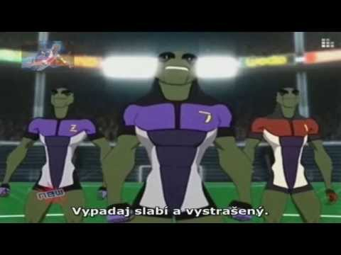Galactik Football 2. Série - 21. Díl Cz   Hd   video