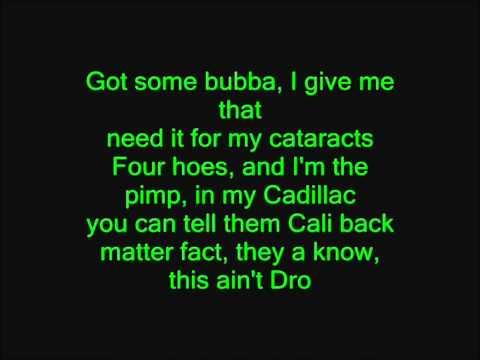 Kush (HD Lyrics) - Dr. Dre ft. Snoop Dogg & Akon