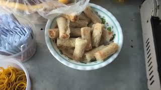 Tâm xe ôm đi mua Bánh Ướt Chả Lụa !!!