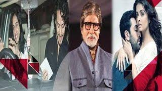 Tiger & Disha's SECRET Dinner Date | FINALLY! Amitabh Comments On Aishwarya's HOT Scenes With Ranbir
