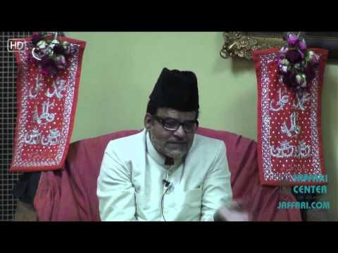 25th Ramazan 1434 Maulana Abid Bilgrami