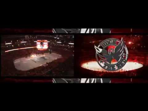 Washington Capitals Playoff Intro and Arena (Quarterfinals) - 2011