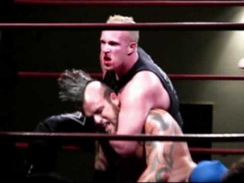 TNA Wrestling Jesse Neal Vs. Canadian Kennedy Kendrick - American Combat Wrestling Video