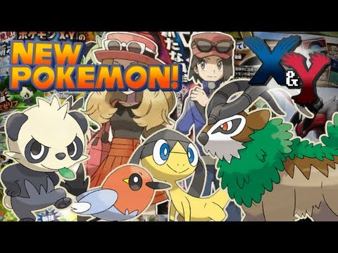 Pokémon X and Y - New Pokémon and Character Customization