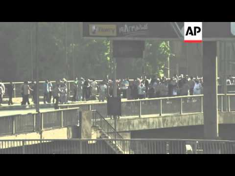 Clashes between residents, Morsi supporters and security forces