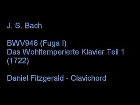 BWV 846 JS Bach