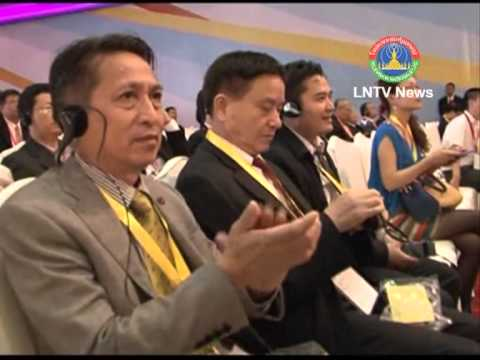 Lao NEWS on LTNV-Laos' Agricultural products on display in China South Asia Expo. 10/6/2013