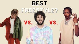 Best Freestyle? Juice WRLD Vs. Lil Baby Vs. Lil Dicky
