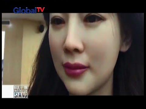 Kenalan yuk dengan Jia Jia, robot cantik dan interaktif dari Tiongkok - BIS 19/04