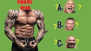 WWE QUIZ - Can You Guess WHICH HEAD of WWE Superstars with TATTOOS?