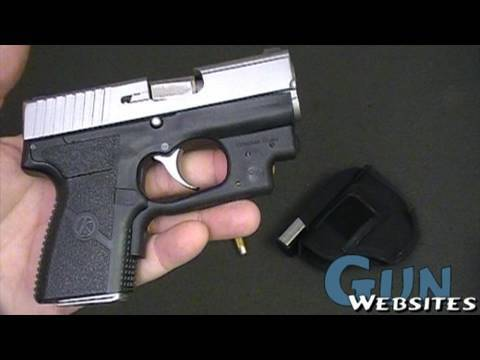 Kahr PM40 Pistol with Laser
