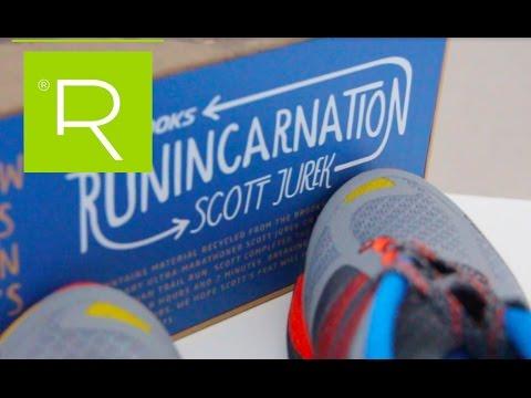 Brooks Cascadia 11 edición especial Scoot Jurek, una de mejores zapatillas trail
