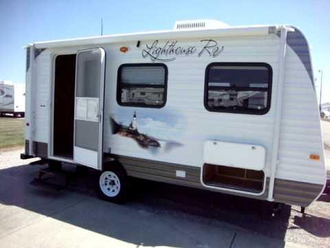2011 lighthouse 18 rb camper trailer couchs campers ohio rv dealer indiana rv youtube. Black Bedroom Furniture Sets. Home Design Ideas