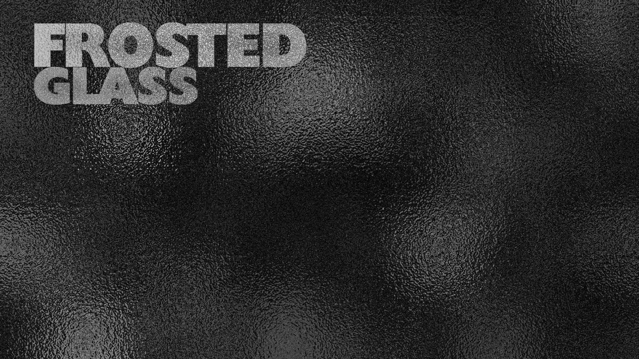 Frosted Glass Overlay Photoshop