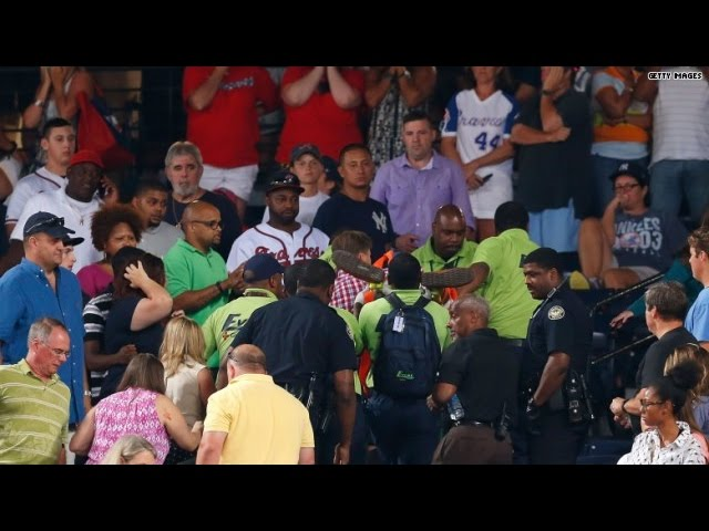 Fan falls to death at baseball game