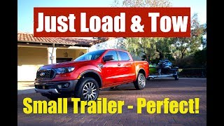 Ford Ranger Review with Towing